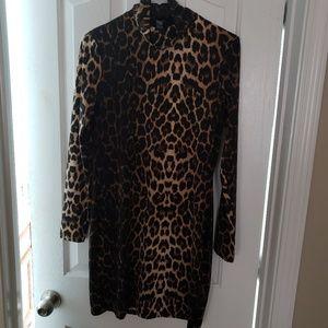 Asos Animal Print Dress